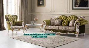 jual sofa tamu modern klasik, set sofa tamu mewah klasik, set kursi tamu jati minimalis sst-259