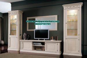 set bufet tv gaya minimalis duco, set bufet tv, ukuran set bufet tv minimalis