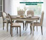 set meja makan minimalis klasik modern terbaru smm-209