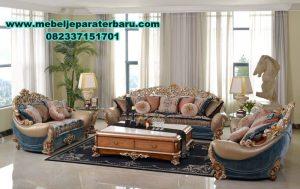 sofa tamu klasik mewah, set sofa tamu ukiran jepara, set kursi tamu jati minimalis
