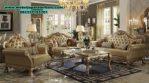 Sofa ruang tamu mewah modern terbaru sst-268