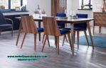 meja makan 4 kursi minimalis modern terbaru