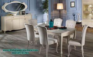 set meja makan modern minimalis putih, set meja makan, set meja makan klasik, set meja makan mewah, set meja makan modern, set meja makan duco, set meja makan minimalis