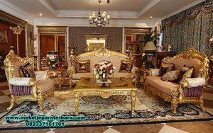 sofa ruang tamu gold klasik mewah terbaru, set kursi tamu jati minimalis, sofa ruang tamu mewah, sofa ruang tamu klasik, set sofa tamu model terbaru