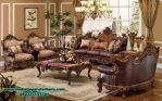 sofa ruang tamu jati klasik model terbaru sst-271