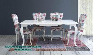 meja makan hilal modern minimalis murah smm-257
