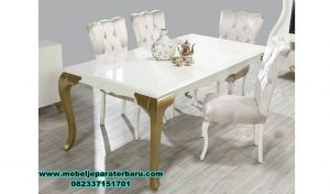 meja makan modern duco minimalis alya, meja makan kayu, meja makan klasik mewah, meja makan mewah minimalis, meja kursi makan terbaru, model kursi makan terbaru, set meja makan modern