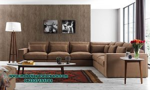 sofa sudut minimalis mewah modern sst-286