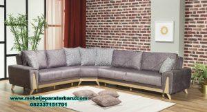 sofa tamu sudut modern minimalis terbaru sst-285