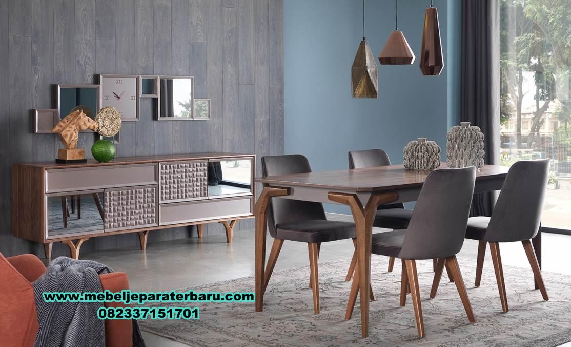 model meja kursi makan modern minimalis jati terbaru, meja makan mewah minimalis, meja kursi makan terbaru, model kursi makan terbaru, set meja makan model terbaru, model set meja makan, set meja makan jati