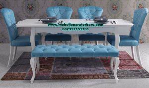 meja kursi makan duco modern minimalis murah, set meja makan modern, harga meja makan mewah, meja makan mewah modern, set meja makan duco, meja makan minimalis modern