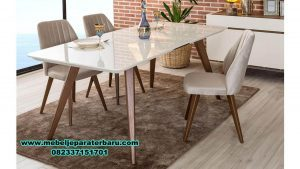 meja kursi makan minimalis modern terbaru smm-266
