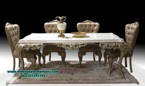model meja kursi makan mewah modern eropa smm-270