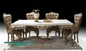 model meja kursi makan mewah modern eropa, set meja makan modern, harga meja makan mewah, meja makan mewah modern, set meja makan duco, meja makan minimalis modern, meja makan klasik mewah