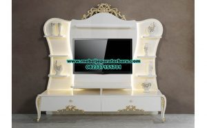 set bufet tv modern mewah eftelya model terbaru bt-133