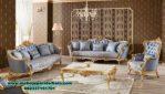 set kursi sofa tamu modern klasik ukiran gold sst-293