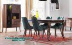 set meja makan jati modern minimalis smm-262