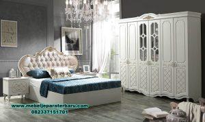 set tempat tidur modern minimalis putih duco stt-149