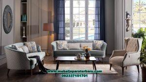 sofa kursi tamu minimalis modern rangka jati sst-295