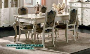 set meja makan mewah klasik 6 kursi smm-285