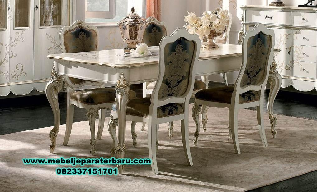 meja makan klasik mewah, meja makan mewah minimalis, set meja makan mewah klasik 6 kursi, meja kursi makan terbaru, set kursi makan, meja makan mewah modern, set meja makan modern
