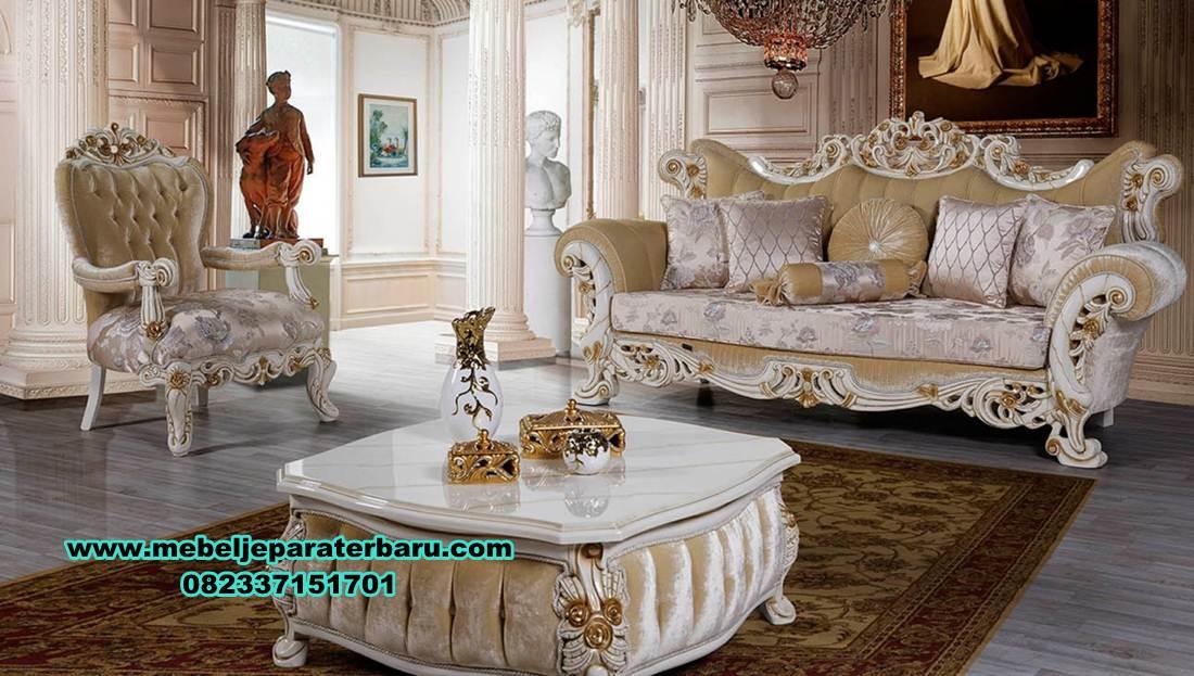 sofa tamu klasik mewah oreo model terbaru, sofa ruang tamu klasik, sofa ruang tamu modern, sofa tamu modern, set kursi tamu, sofa tamu, model sofa ruang tamu, set sofa tamu model terbaru