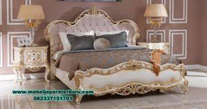 tempat tidur klasik mewah terbaru stt-255