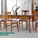 meja makan minimalis modern, set meja makan jati, set meja kursi makan kayu jati minimalis, meja makan kayu, meja makan mewah minimalis, set meja makan modern
