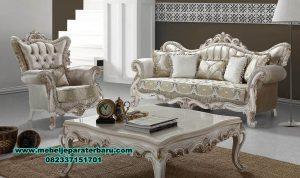 set sofa ruang tamu klasik ukiran mewah sst-304