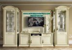 satu set bufet tv modern mewah terbaru bt-146