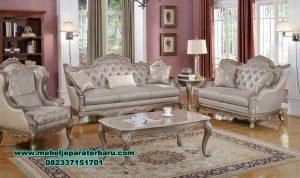 satu set sofa ruang tamu modern mewah new sst-312