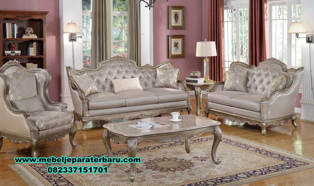 satu set sofa ruang tamu modern mewah new, sofa ruang tamu ukiran, sofa ruang tamu mewah, sofa tamu, sofa ruang tamu modern, sofa tamu modern, set kursi tamu