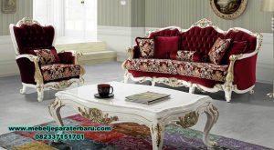 model kursi sofa tamu mewah klasik duco sst-314