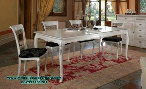 gambar model meja makan modern duco terbaru smm-301