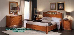 model 1 set tempat tidur jati minimalis siena stt-153