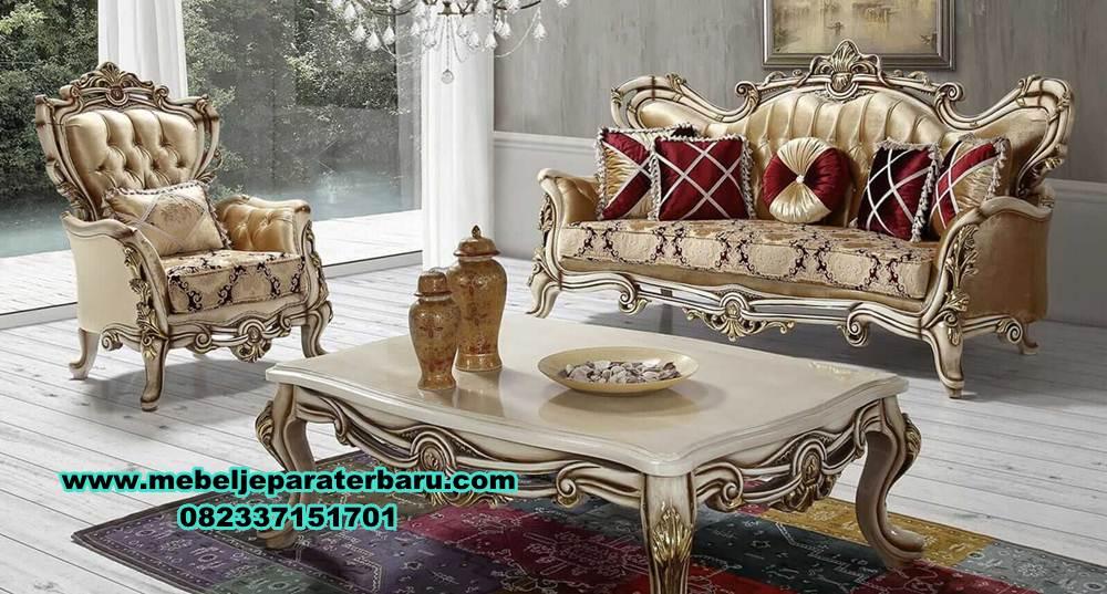 sofa ruang tamu klasik, sofa ruang tamu ukiran, set kursi tamu ukiran klasik mewah duco, set kursi tamu, sofa tamu modern mewah, model kursi sofa tamu mewah klasik duco, sofa ruang tamu mewah