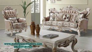 sofa ruang tamu model terbaru eropa mewah duco sst-323