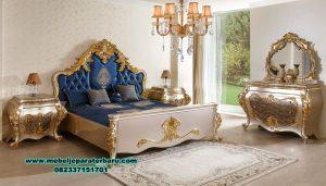 1 set tempat tidur mewah pengantin duco eropa stt-158