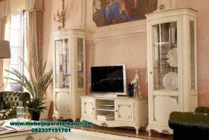 set bufet tv berkualitas modern klasik ukir bt-154