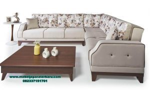 set sofa ruang tamu sudut minimalis modern sst-330