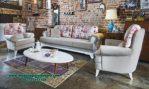 sofa kursi tamu modern minimalis rangka jati sst-336