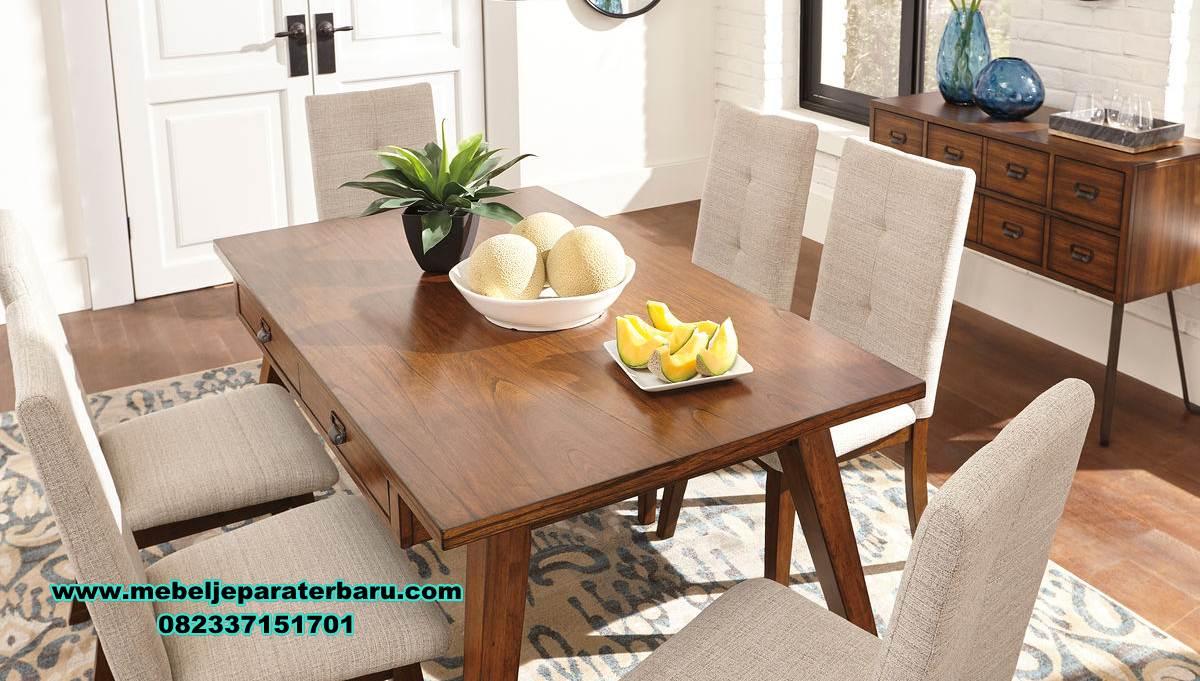 meja makan minimalis modern, meja makan kayu jati minimalis modern, meja makan kayu, set meja makan jati, set meja makan modern, meja kursi makan terbaru, set kursi makan, meja makan minimalis, meja makan klasik, meja makan mewah minimalis