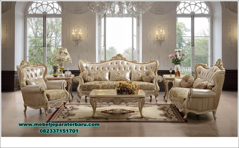 klasik kursi tamu ukir duco model terbaru , set kursi tamu, kursi tamu klasik, sofa ruang tamu klasik, sofa ruang tamu ukiran, model kursi sofa tamu mewah klasik duco, model kursi jati, sofa tamu