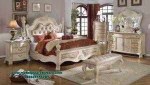 tempat tidur klasik ukir model terbaru kanopi stt-167