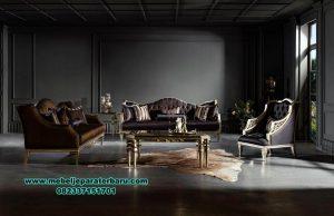 modern sofa tamu klasik mewah model terbaru sst-346