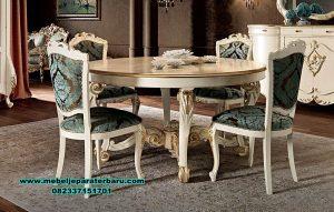 model meja makan italia klasik duco, set meja makan klasik terbaru, meja makan klasik eropa, model set meja makan klasik, set meja makan, set meja makan klasik
