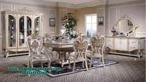 model set meja makan ukir klasik eropa, model set meja makan ukir, meja makan klasik eropa, set meja makan, set meja makan klasik, set meja makan mewah