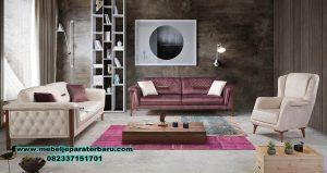 sofa ruang tamu jati minimalis modern sst-348