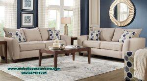 sofa ruang tamu minimalis jati modern sst-349