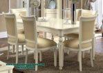 Harga meja makan modern mewah minimalis camel torriani salina Smm-340